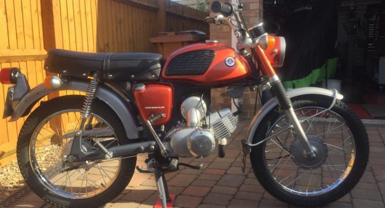 1971 Suzuki ACC100. Rare UK bike. Nut and bolt rebuild. £2345 ovno