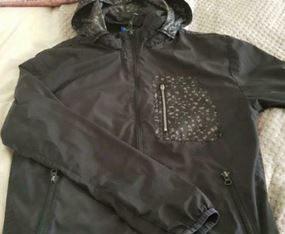 Adidas rain coat size small
