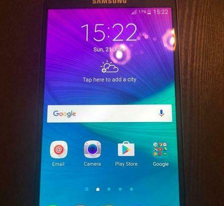 Samsung Galaxy note 4 32gb unlocked