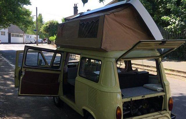 Classic Fiat 900t amigo campervan mobile catering coffee van £8500 ONO