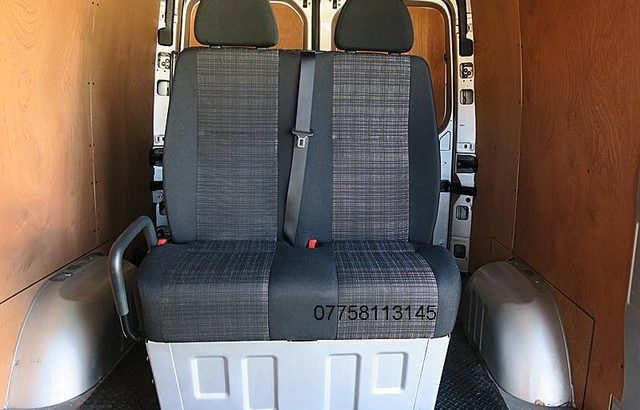 MERCEDES SPRINTER 2016TWIN PASSENGER SEAT BASE AND COVERS