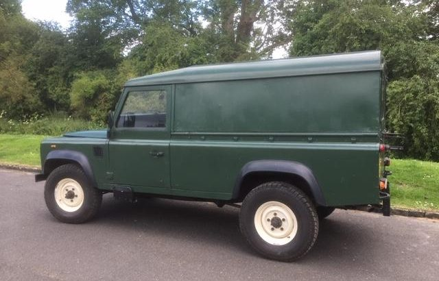 Land Rover LWB ex Military