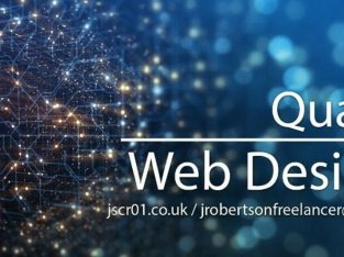Quality Web Design | Responsive | Hosting | From £299
