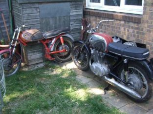Honda CB72 job lot of parts (2 bikes + lots of spares). £3000 ONO