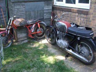 Honda CB72 job lot of parts (2 bikes + lots of spares). £3000 ONO