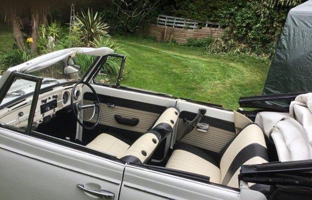 Original karmann beetle convertible 1972 RHD £11,000 ovno