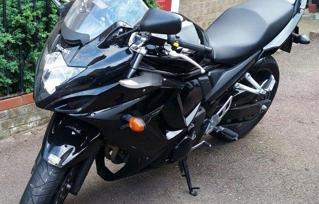 2014 Suzuki GSX650FA-L2 ABS sports tourer in deep black
