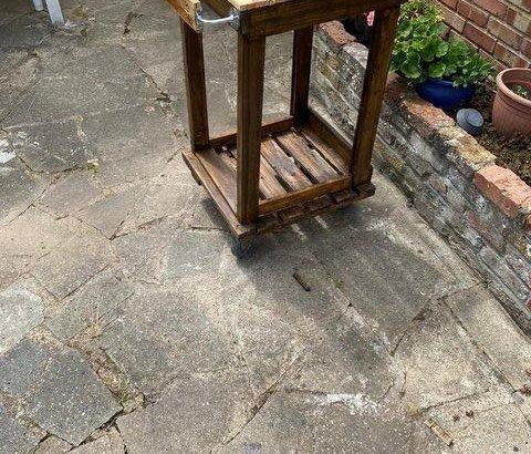 lightweight garden trolley