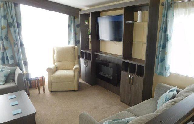 Static caravan Regal sanderson 2 bedroomed 6 berth 40x14ft