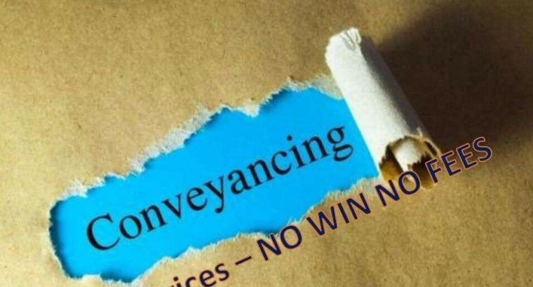Source the low cost property conveyancing/ Solicitor with fast services – NO WIN NO FEES