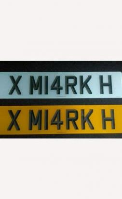 private Numberplate, (MARK) on retention, all fees paid £2999 ovno