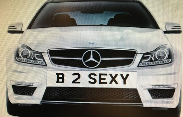 *B 2 (word removed)* PRIVATE NUMBERPLATE FOR SALE