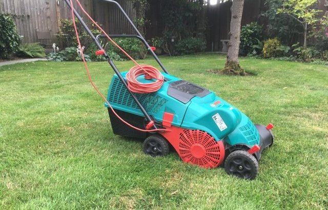 Bosch ALR Electric Lawn Rake