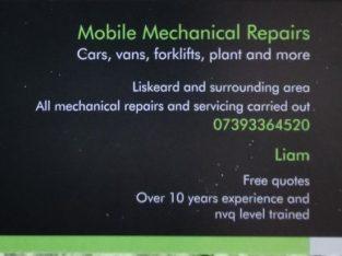 Fully mobile Mechanical Repairs