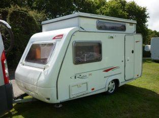 Trigano Rubis 340TDL pop top,2 berth caravan – 2006