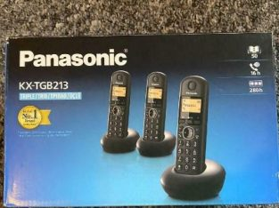 Panasonic triple phone