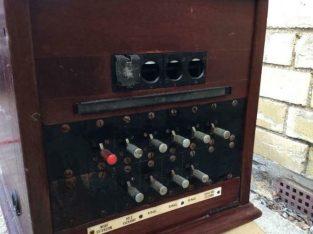Antique GPO Switch Board CB 935