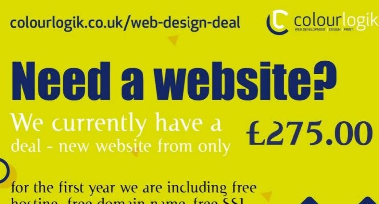 Freelance Web Design Deal | £275.00 package | e-commerce Websites | Responsive | Birmingham
