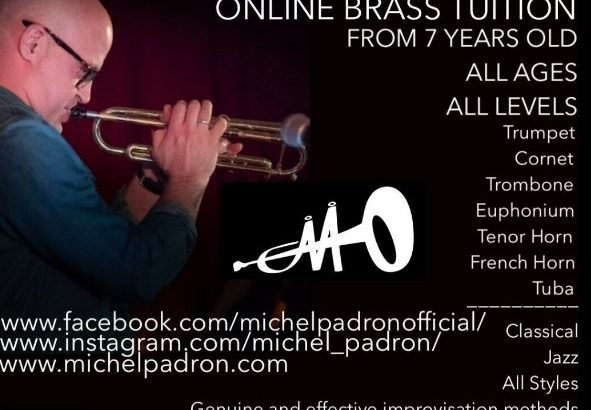 ONLINE BRASS TUITION, ALL LEVELS, FROM 7 YEARS.