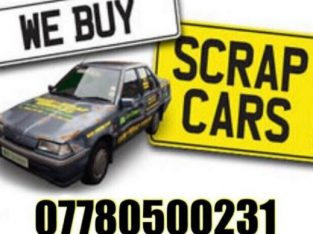 Scrap a car today scrap my car we buy any car van bike used cars collected any age or condition