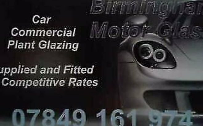 Windscreen replacements in and around Birmingham 31 years experience