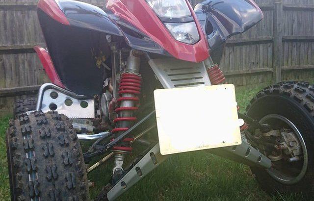 Road legal suzuki ltz400 440 quad bike no mot £3000 ono