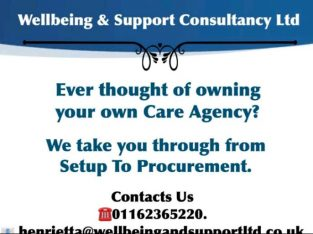 Setup your own care agency
