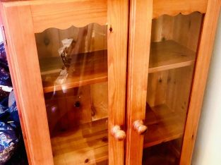Glass bookcase offer