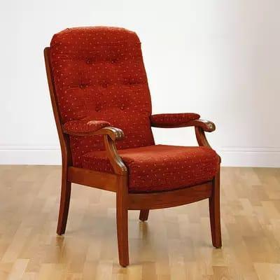 Cintique Armchair. Golden Oak