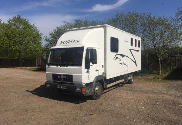 MAN 7.5tonne horse box for sale
