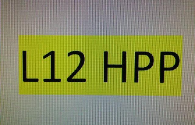 Cherished Number Plate Documentation