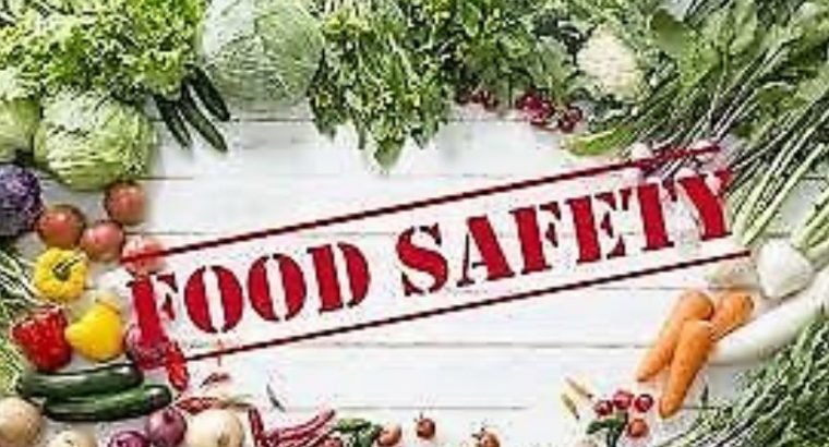 FOOD SAFETY COURSES (LEVEL 2 , 3 COURSES) BASIC TO SUPERVISOR LEVEL COURSES (GROUP DISCOUNTS)