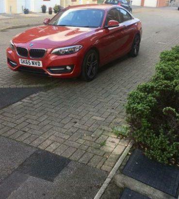 BMW 2 series 2.0 218d sport (s/s) 2dr 2015