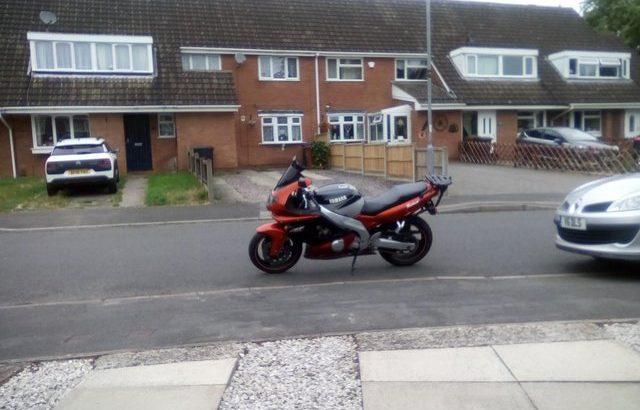 Yamaha yzf 600r thundercat £1700 ovno