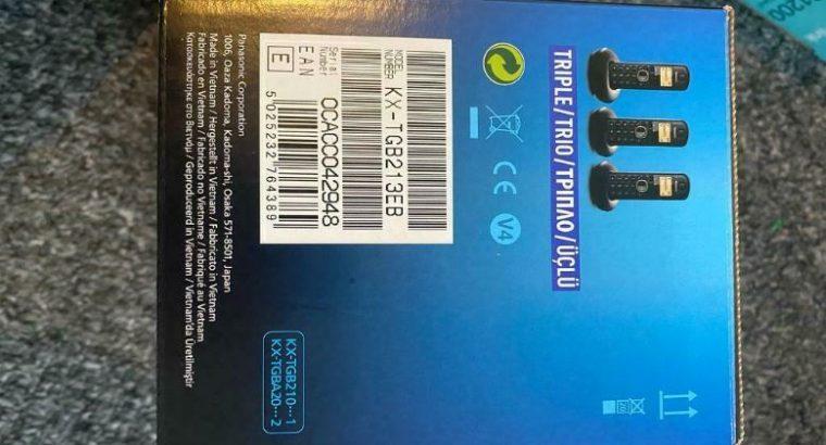 Panasonic triple phone