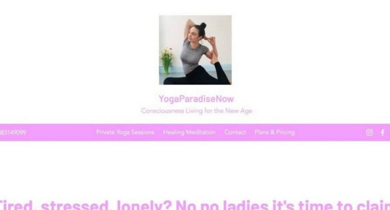 FREE Yoga Private Session for Ladies'