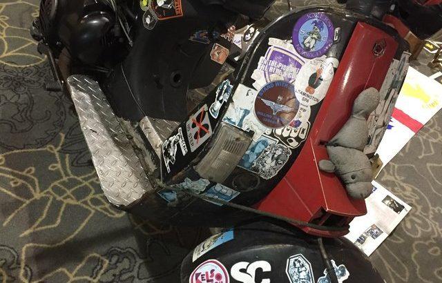 Lambretta Mods scooters the Who