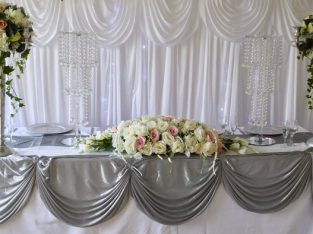 Wedding Venue dresser and planner
