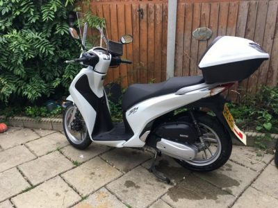 honda sh125 ad-e moped scooter ideal knowledge delivery bike