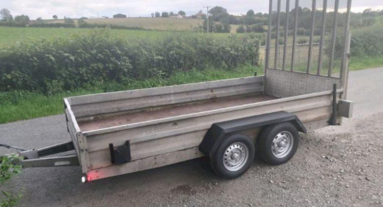 Idespension 12×6 plant trailer