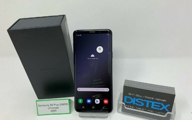 Samsung Galaxy S9 Plus 256GB Titanium Grey Boxed WARRANTY Other Colours Available