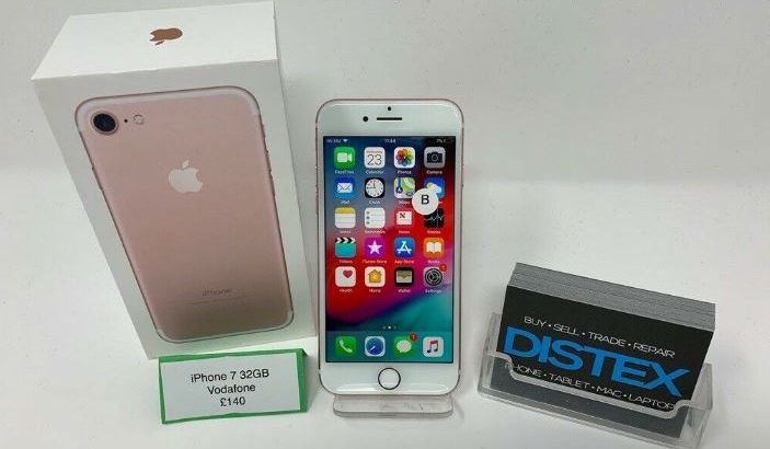 Apple iPhone 7 32GB Vodafone Rose Gold Boxed WARRANTY (Unlocked also Available)