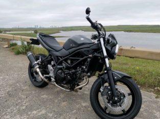 Suzuki sv650 2016 black