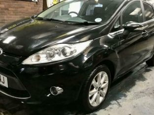 Ford Fiesta Zetec 1.4 TDCI 5 door Black