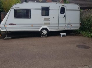Elddis typhoon 98 caravan £2500 No Offers