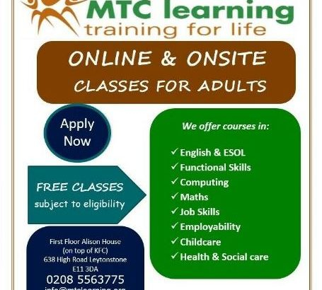 FREE ENGLISH CLASSES FOR ALL