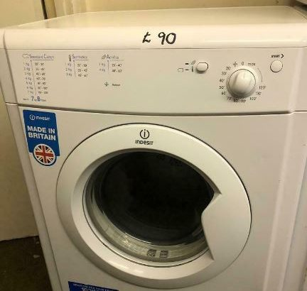 7 KG INDESIT VENTED DRYER WITH GUARANTEE 🇬🇧🇬🇧🇬🇧