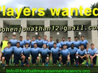 Urgent FIFA Football Agent looking for serious male/ female players ages 14-27 years