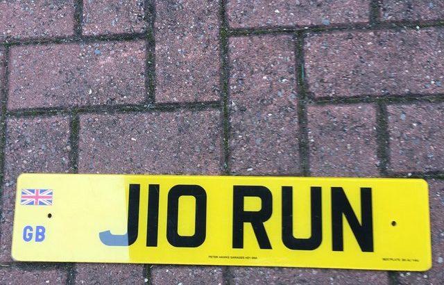 No plate J 10 Run Offers