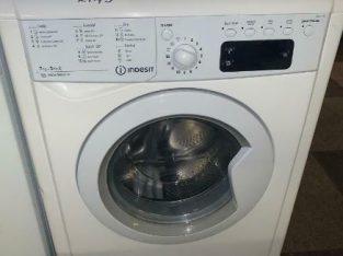 🌳🌳 PLANET APPLIANCE – 7+5 INDESIT DRYER WASHER WASHING MACHINE WITH WARRANTY WHITE